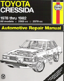 Automotive repair manuals 1978 1982 toyota cressida haynes automotive repair manual fandeluxe Images