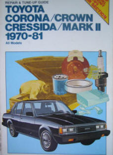 Automotive repair manuals toyota corona cressida crown mark ii 1970 1981 repair manual fandeluxe Images