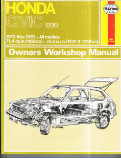 Automotive repair manuals honda civic owners workshop manual fandeluxe Image collections
