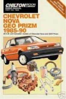 Automotive repair manuals chevrolet nova geo prizm 1985 90 fandeluxe Image collections