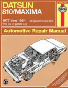 Automotive repair manuals datsun 810 maxima 7784 haynes repair manuals 9781850100539 datsun 810 maxima 7784 haynes repair manuals softcover fandeluxe Image collections