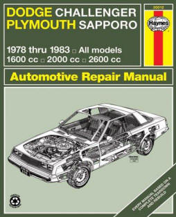 Automotive repair manuals cb6042 haynes dodge challenger and plymouth sapporo manual no 699 78 83 haynes manuals haynes john published by haynes manuals inc 1983 fandeluxe Image collections