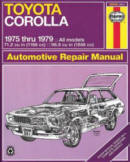 Automotive repair manuals toyota corolla 1975 thru 1979 all models 712 cu in fandeluxe Images