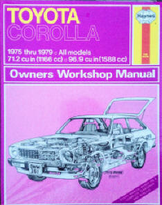 Automotive repair manuals toyota corolla 1975 thru 1979 haynes repair manuals haynes john published by haynes manuals n america inc 1965 isbn 10 0856968528 isbn fandeluxe Images